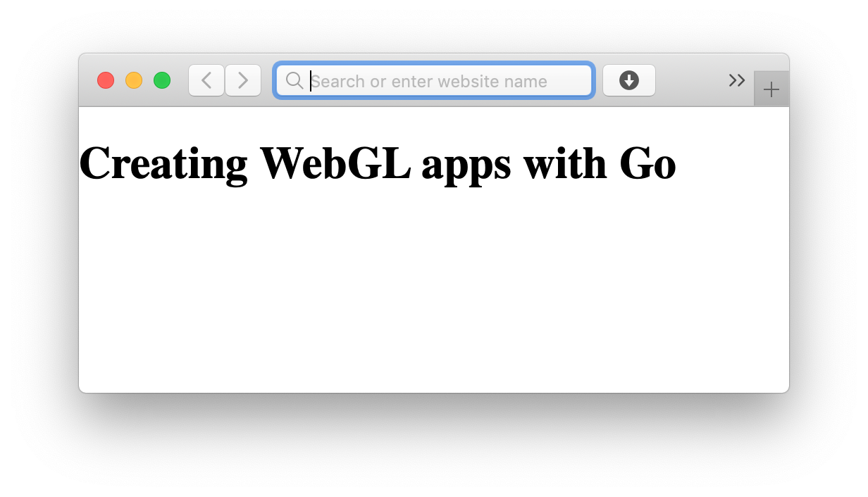 Creating WebGL apps with Go GopherAcademy